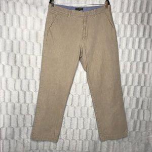 Banana Republic Khaki Straight Fit Pants